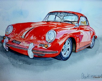 PORSCHE 356 c CARRERA 1600 Red