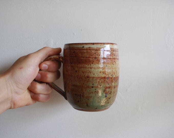 Coffee Mug - Desert Green - Handmade - Ceramics & Pottery - KJ Pottery