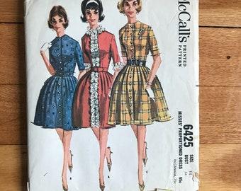 Vintage McCalls Dress pattern 6425 1962