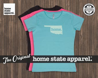 Oklahoma Home. T-shirt- Women's Relaxed Fit