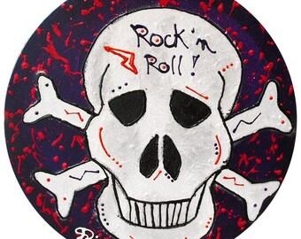 Skull canvas