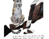 The Snow Leopard Print