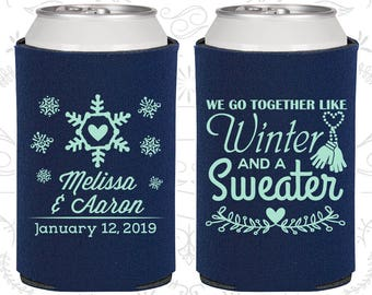 We Go To Together Like Winter And A Sweater Wedding Party Gifts