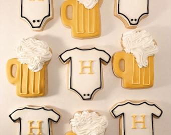 Newborn Custom Sugar Cookies