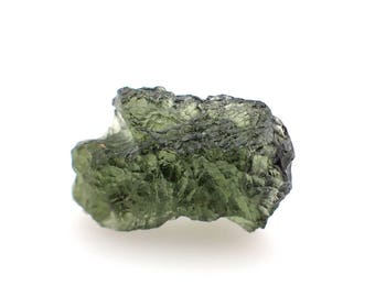 Moldavite genuine specimen from Czech Republic - 2gm / 20mm x 13mm x 7.9mm (453)