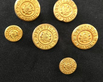 Vintage Waterbury Buttons