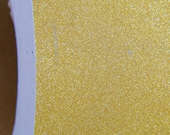 "Glitter Gold Self Adhesive Sign Vinyl Film 12"" wide - By The Yard"