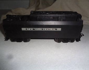 Lionel electric trains ,NYC nice coal car,tender with built in whistle for 027 or 0 gauge track