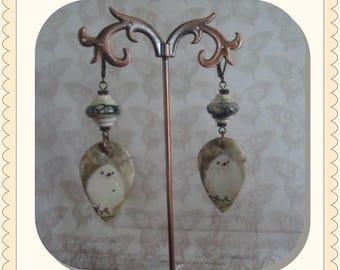 The Winter Wren Earrings