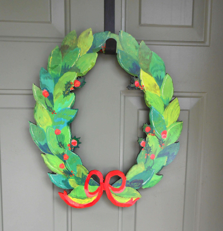 holly wreath wood wreath modern wreath modern farmhouse modernchristmas wreaths front door wreath front door wreaths holiday wreath. holly wreath wood wreath modern wreath modern farmhouse modern
