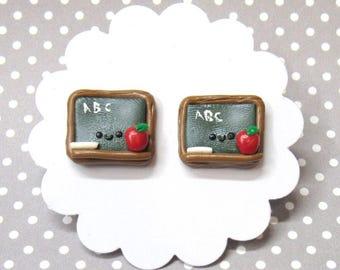 Back to School, Teacher Earrings, Teacher's Appreciation Gift, Cute Earrings, Unique Earrings, School Earrings, Hypoallergenic, Nickel Free