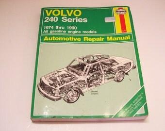 Volvo 240 Series 1974 - 1990 Haynes 270 Automotive Repair Manual