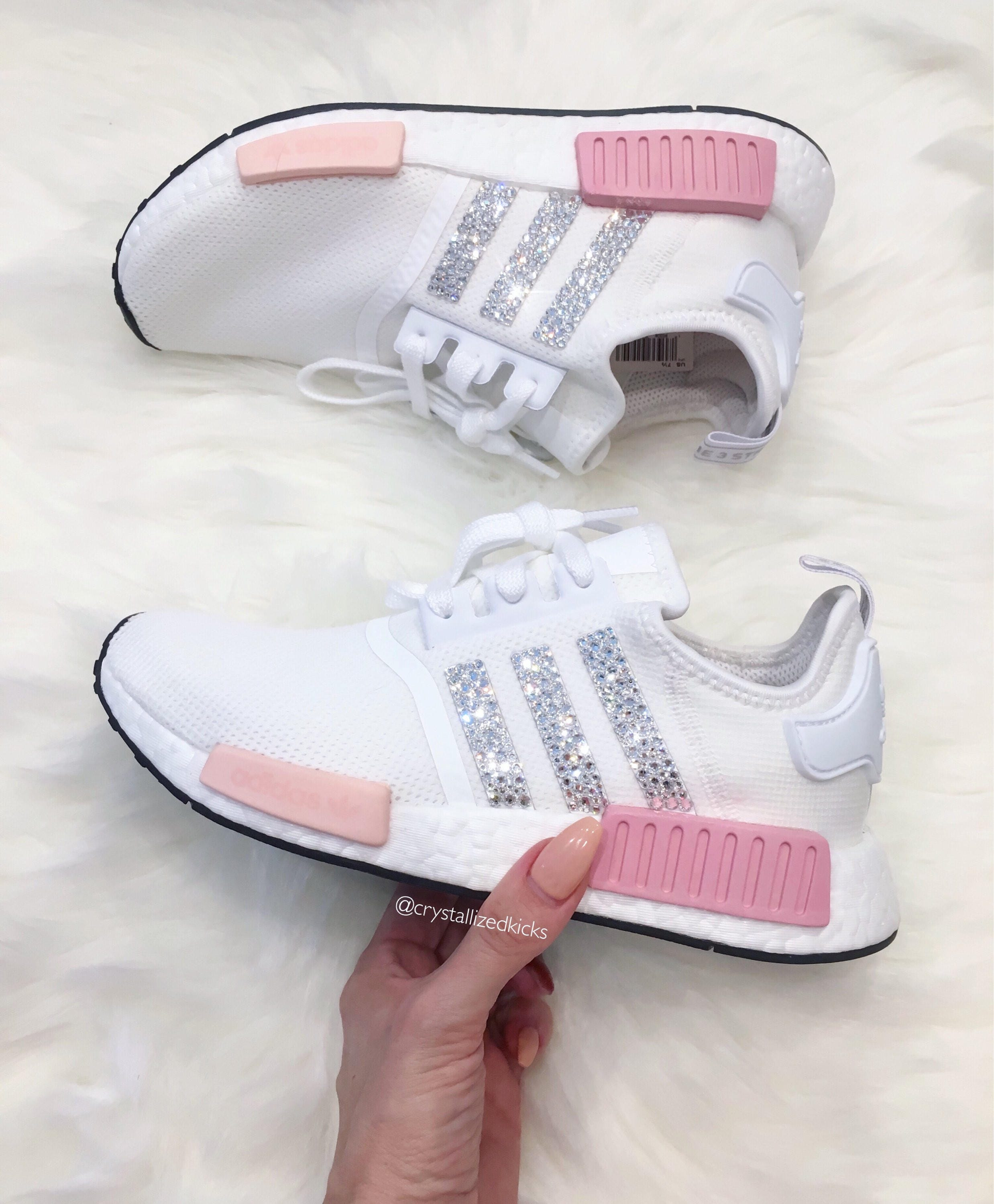 ... greece adidas nmd runner made with swarovski xirius rose crystals 100f8  de5b9 9e11da6f4