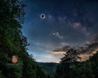 A Solar Eclipse 2017 Photo Totality from Soddy Daisy, TN