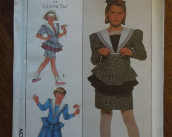 Simplicity 8880, size 12, dress, UNCUT sewing pattern, craft supplies, girls, childrens
