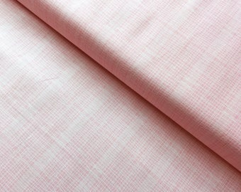 Jane Makower 'Discounted' Inprint Pinky Peach Check Toner Patchwork Quilting Dressmaking Fabric