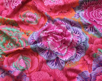 Brassica in Red PWPJ051.REDXX Philip Jacobs Kaffe Fassett Collective Classics Free Spirit Fabric