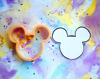 Mickey Head Cookie Cutter // 3 Sizes //