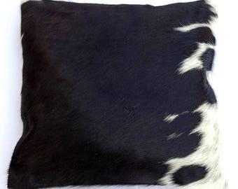 Natural Cowhide Luxurious Hair On Cushion/ Pillow Cover (15''x 15'') A20