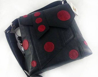 The rebel leather recycled from clothing