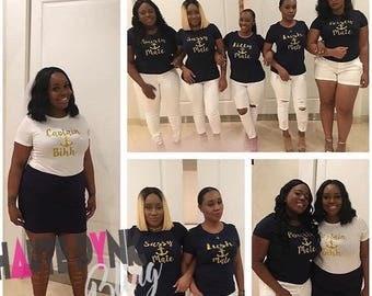 Bridal Crew tee package 10 tees