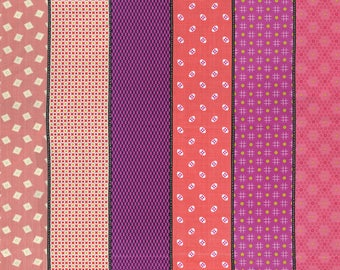 In Stock JEN KINGWELL New 2017 LOLLIES Movelty Stripe Multi Hot Moda Fabric