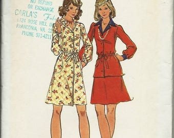 25% OFF Butterick Pattern 3198 Misses Dress, Top and Skirt   Size 18   Uncut