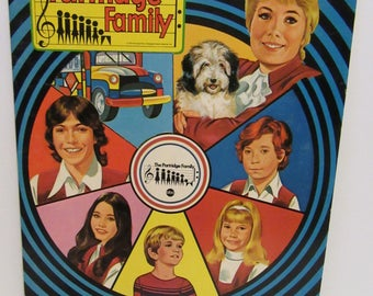 The Partridge Family Paper Dolls David Cassidy Uncut 1971