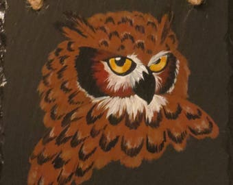 "Our Wise Old ""OWL"" Slate"