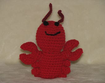 "Larry the Lobster - 6"" tall Adorable little sea creature"