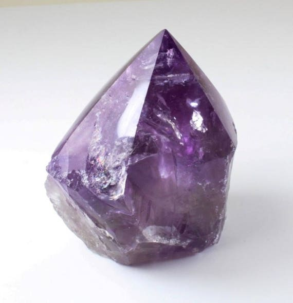 Amethyst Point, Partially Polished, M-1304