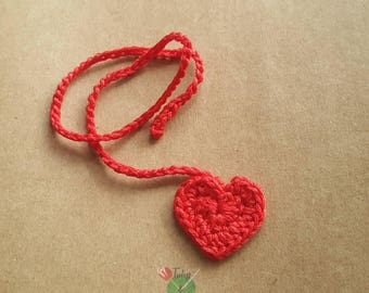 Heart Umbilical Cord Tie for Newborn Baby - choose any colour - IN STOCK