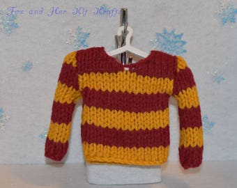 Christmas/Harry Potter Sweater Ornament