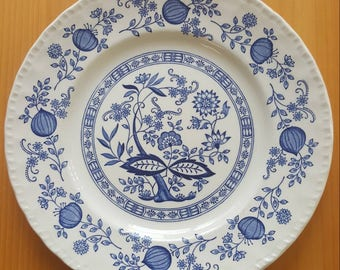 Wedgewood Blue Heritage dinner plate