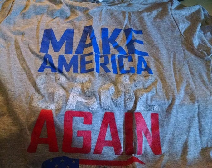 Shirts - Make America Game Again - Adult XL