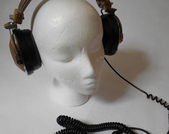 Vintage Koss PRO 4/aaa Stereo Headphones - Great Condition Working!