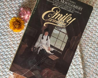 Emily of New Moon written by LM Montgomery, book one in the series, vintage book