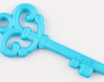 X 1 key turquoise 60mm