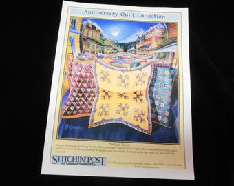 Quilting Patterns Twilight Revue Anniversary Quilt Collection Pattern only