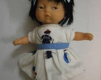 Navy Blue for baby 20cm or mini dress Corolla