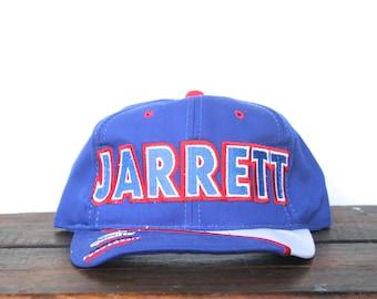 RESERVED Vintage 90's Dale Jarrett Ford Quality Care Racing Team Nascar Trucker Hat Snapback Baseball Cap