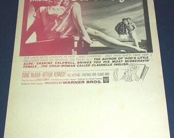 1961 Claudelle Inglish film herald
