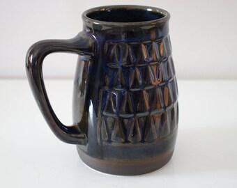 Danish Søholm Blue Series Mug/Vase - Designed by Einar Johansen