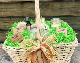 Easter Gift Basket, Essential Oil Products