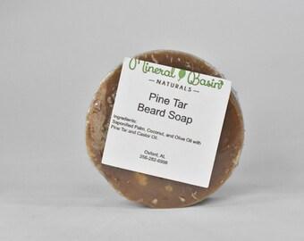 Pine Tar Beard Soap - VEGAN