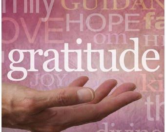 "NEW - ""Digital"" Gratitude Journal"
