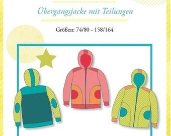 "Summer Sale Mialuna pattern transition jacket ""Jace"""