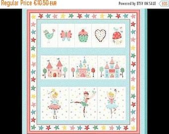 "Summer Sale Makower.UK ""Tutu Fairy Pocket"" Panel storage"
