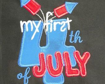 My First July 4th Bib