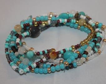 Turquoise Stretch Stack